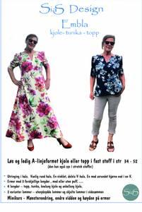 Bilde av Sias Design - EMBLA  kjole - tunika - topp