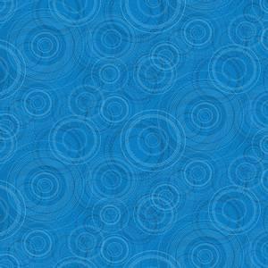 Bilde av bomullstoff Medium Peacock Beaded Circles