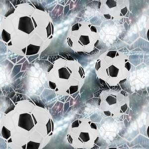 Bilde av Bomullsjersey med nett fotball