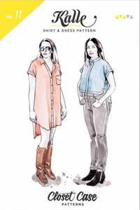 Bilde av Closet Core Patterns Kalle Shirt & Shirtdress