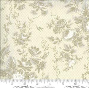 Bilde av Moda fabrics Roselyn Floral Ivory