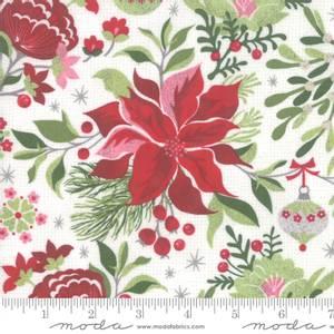 Bilde av Moda Fabrics Naughty Or Nice Snow julestjerne