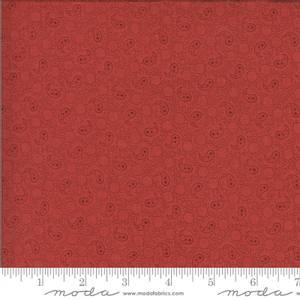 Bilde av Moda fabrics Roselyn Paisley Warm Red