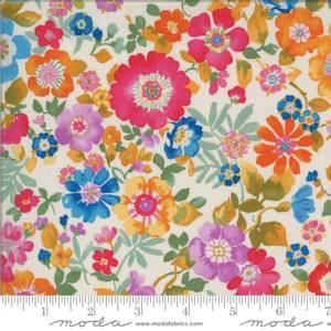 Bilde av Moda fabrics Lulu Flower Garden Linen