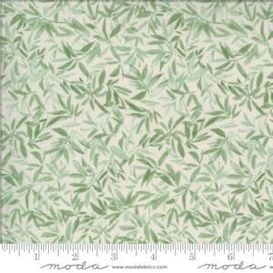 Bilde av Moda fabrics Lulu Leaves Linen