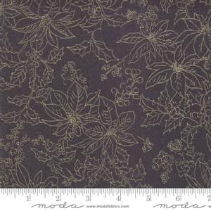 Bilde av Moda Fabrics Forest Frost Glitter svart