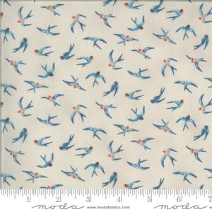 Bilde av Moda fabrics Lulu Flying Hi Linen