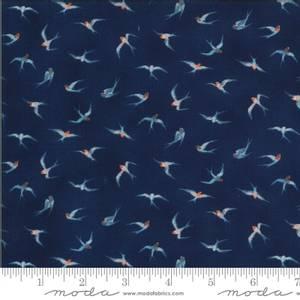 Bilde av Moda fabrics Lulu Flying Hi Navy
