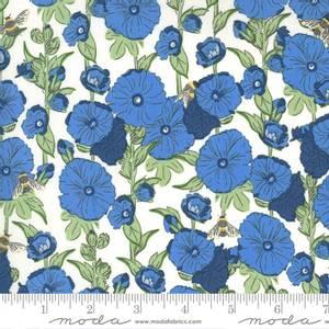 Bilde av Moda fabrics Break Of Day Ivory Cornflower