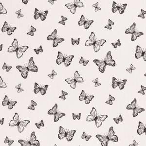 Bilde av Musselin - Double Gauze sommerfugler hvit
