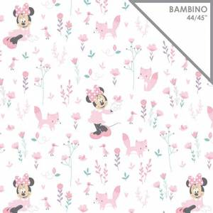 Bilde av Musselin - Gauze Pink Disney Little Fox