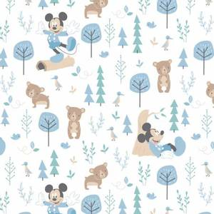Bilde av Musselin - Gauze Blue Disney Little Bear