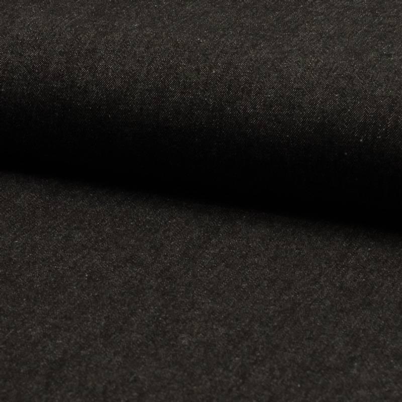 Denim Jeans Vasket svart 7.5OZ