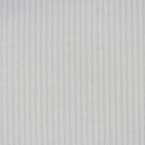 Bilde av Beklednings ribbet jersey Hvit
