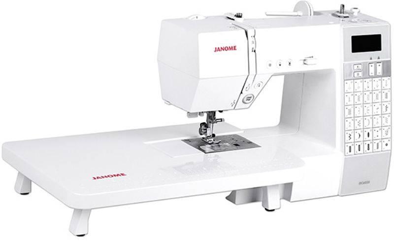 Ny modell Janome EMBLA 6030 + Bonuspakke og sybret