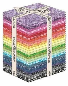 Bilde av Fat Quarter Color Therapy Batik, 28pcs/bundle