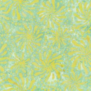 Bilde av Bomull stoff  Batiks Chrysanthemum