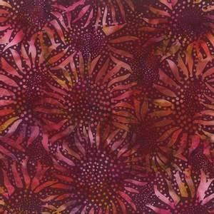 Bilde av Burgundy Bali Batik