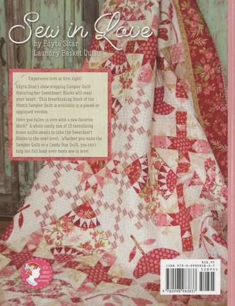 Edyta Sitar Sew In Love Book bok