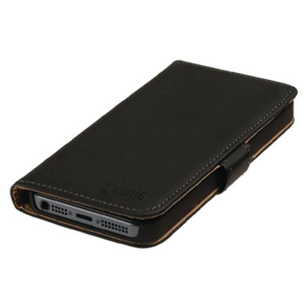 Smartphone Lommebok Bok Apple iPhone 6 / 6s Svart
