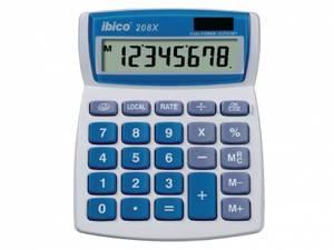 Bilde av Kalkulator Grå/Blå