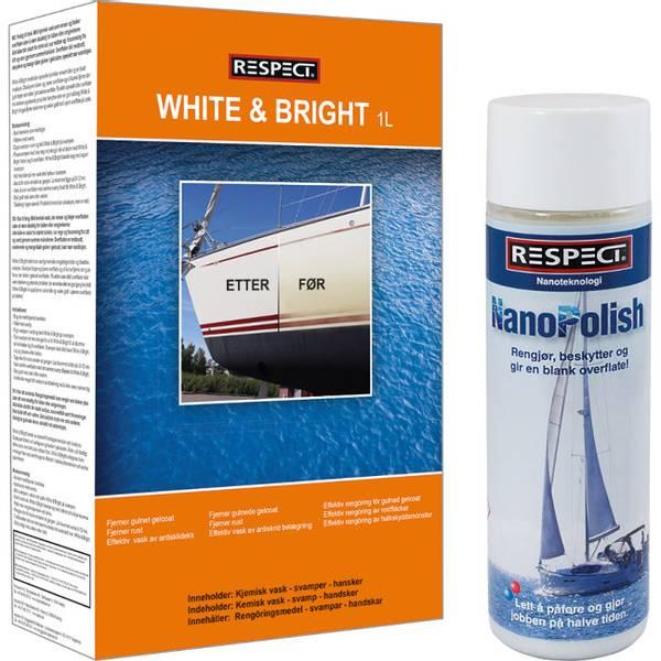 Skrogvask og polering White & Bright