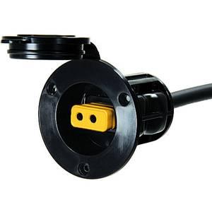 Bilde av Flushmontert strømport - Cannon