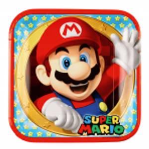 Bilde av Super Mario Tallerken 8 st