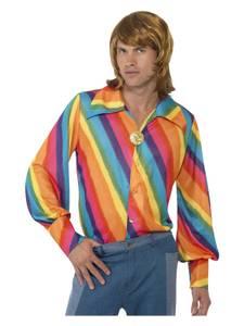Bilde av 70s Multicolor Skjorte