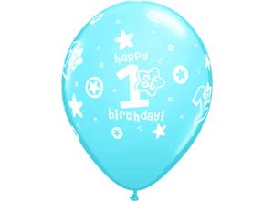 Bilde av 11R 1st Birthday Circle Star Boy