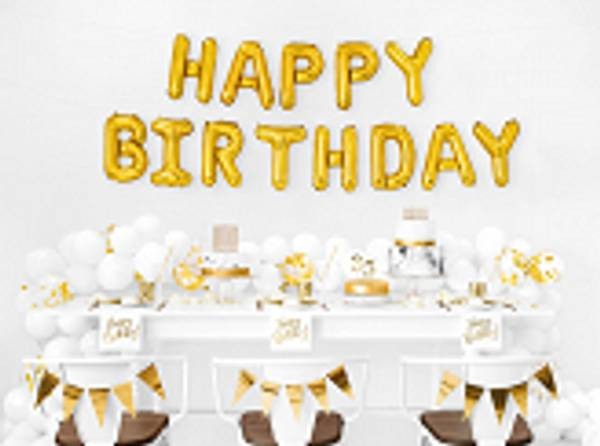Happy Birtday Kit Gold