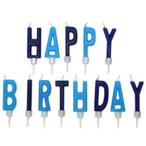 Bilde av Happy Birthday Blå