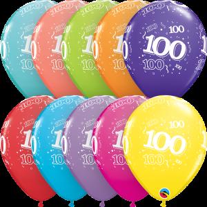 Bilde av 100 Round, Ass 6 st