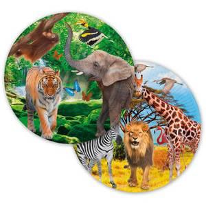 Bilde av Safari Tallerken 8 st