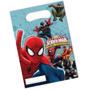Bilde av Spiderman Godtepose 6 st