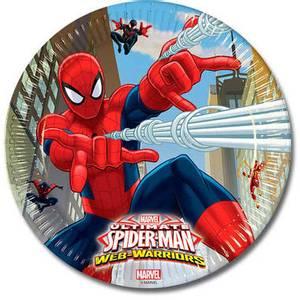 Bilde av Spiderman Tallerken 8 st