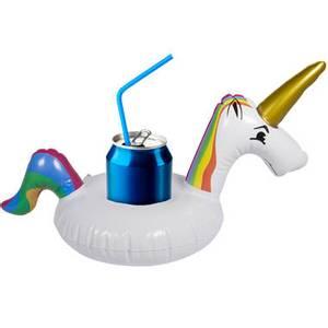 Bilde av Drinkholder Unicorn Oppblåsbar