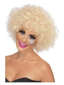 Bilde av 70's Funky Afro Blond Dame