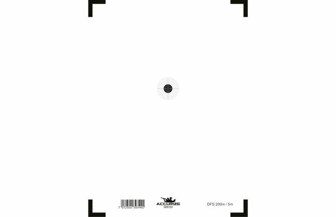 Bilde av Front target DFS200m/5m