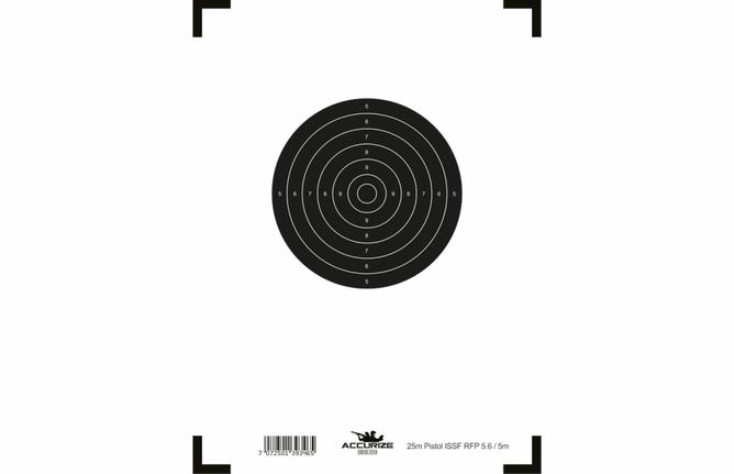 Bilde av Front target pistol 25m ISSF RFP 5.6/5m