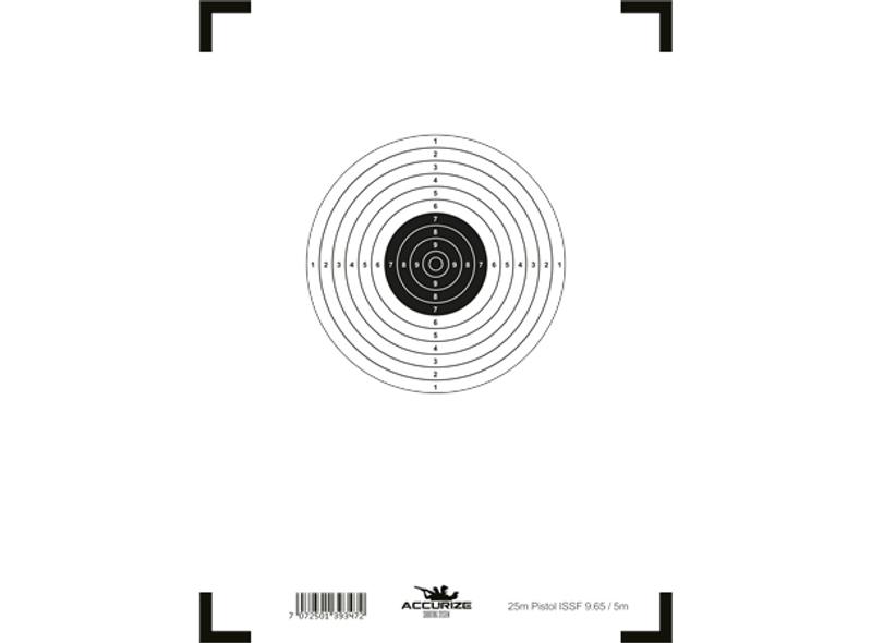 Bilde av Front target pistol 25m ISSF 9.65/5m