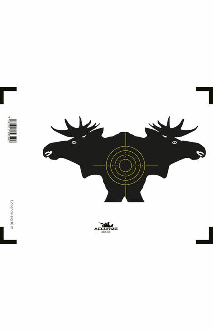 Bilde av Front target run moose 10 m