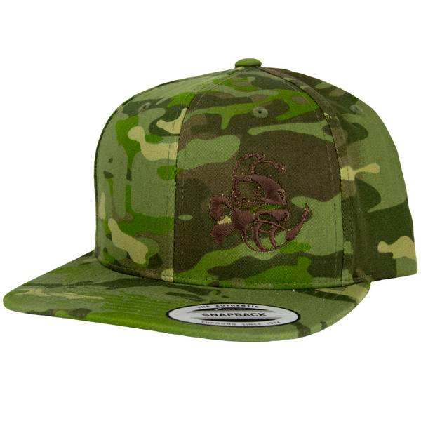 Bilde av Discraft Camo Snapback Hat Buzzz Design