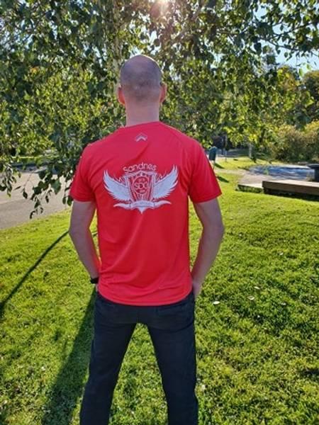 Bilde av Tec T shirt Dame, Sandnes Disc Golf klubb