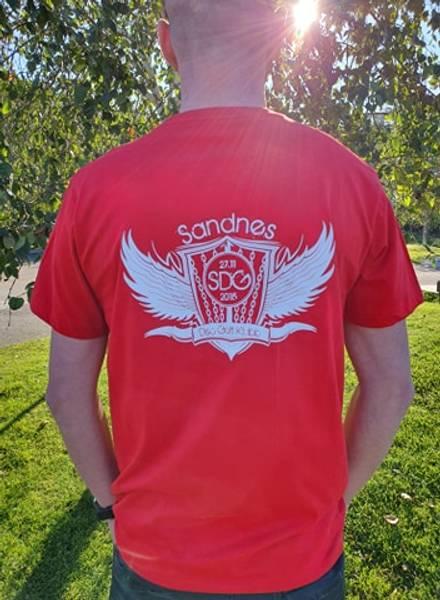 Bilde av Bomullsskjorte Dame, Sandnes Disc Golf klubb