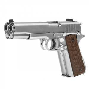 Bilde av WE - 1911 Double Barrel Gassdrevet Softgunpistol - Sølv