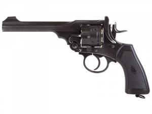 Bilde av Webley - MKVI Service Revolver 4.5mm BB - Battlefield Finish