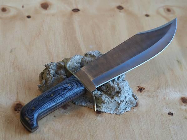 Bilde av Wild Turkey - Håndlaget Bowiekniv med Slire