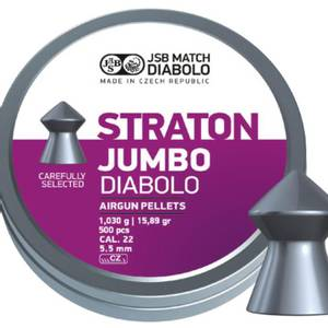 Bilde av JSB Jumbo Straton - 5.5mm - 500stk