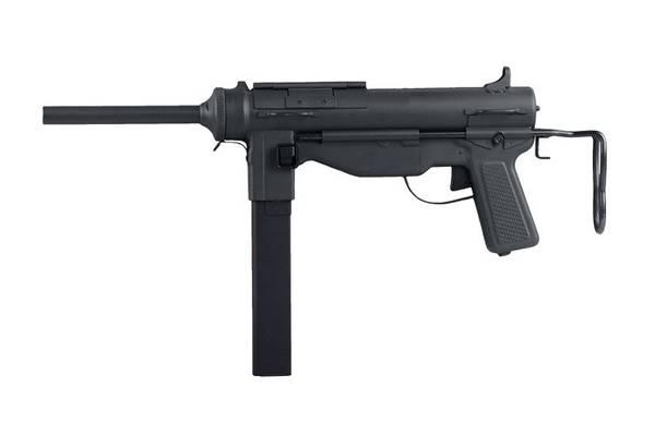 Bilde av Snow Wolf - M3 Grease Gun Elektrisk Softgun Rifle